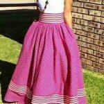 shweshwe dresses and skirts 2017