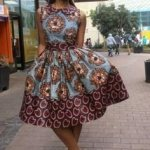lovely top kitenge short dresses in 2017