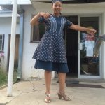 shweshwe dress ..beautiful 2017