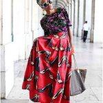 African Prints and Ankara Maxi Skirts 2017