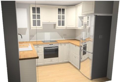 Kitchen fridge 001