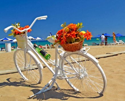 rhodes-beach-bicycle