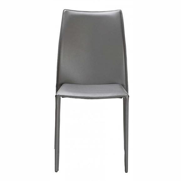 chaise classique en cuir
