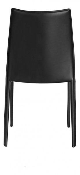 chaise noire classique cuitr