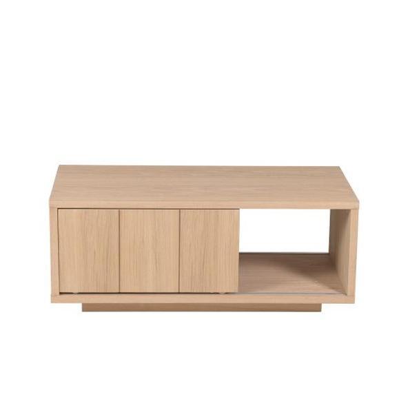 meuble tv spacieux bois chêne