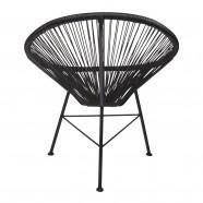 chaise acapulco noire