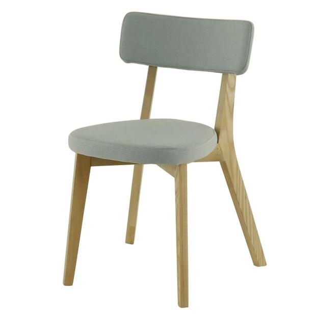 chaise alison gris clair