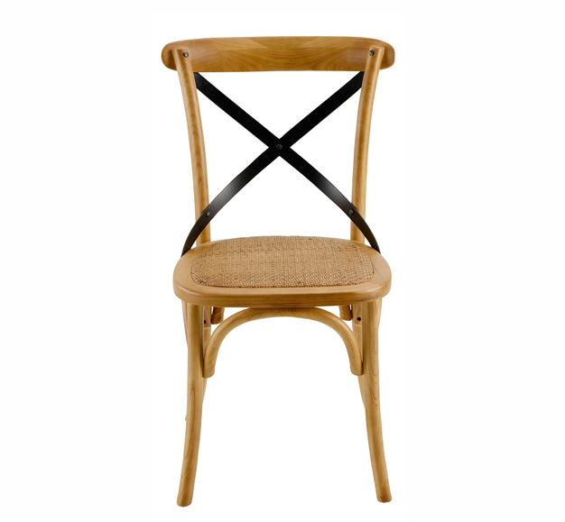 chaise ancienne bistrot bois vintage