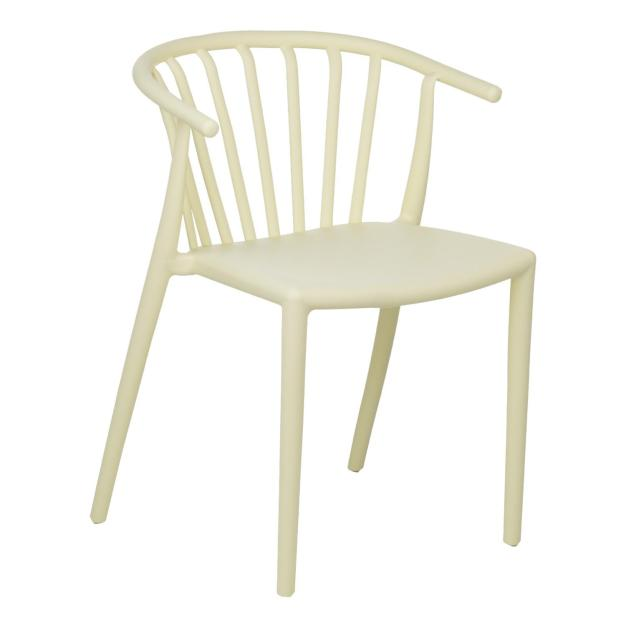 chaise blanche clair lumineuse moderne