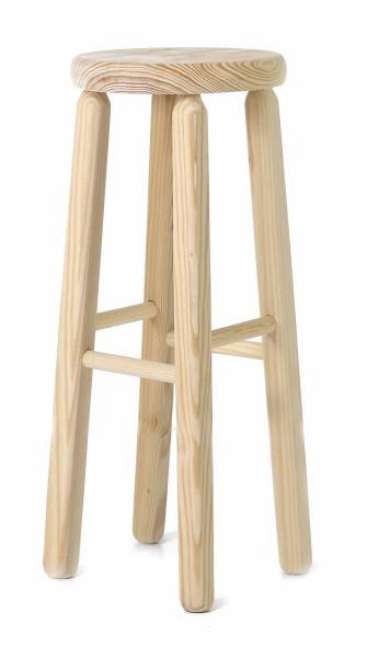 tabouret bar en hauteur bois