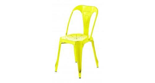 chaise moderne jaune soleil lumineuse
