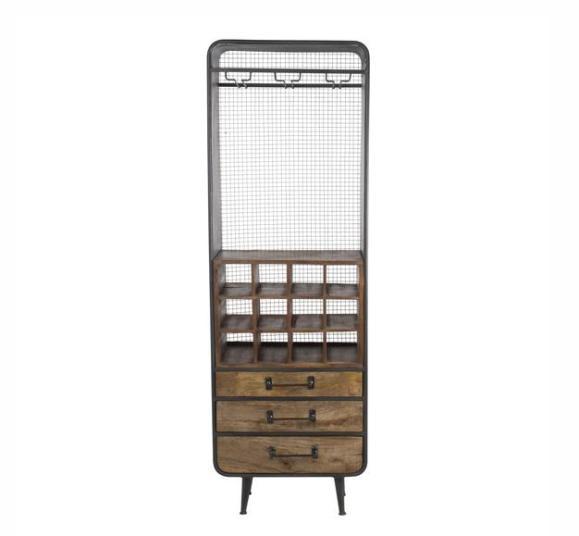 armoire vaisselle spacieux vintage