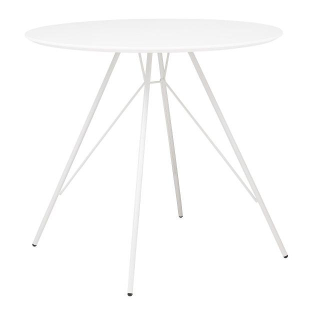 table ronde tour eiffel blanche