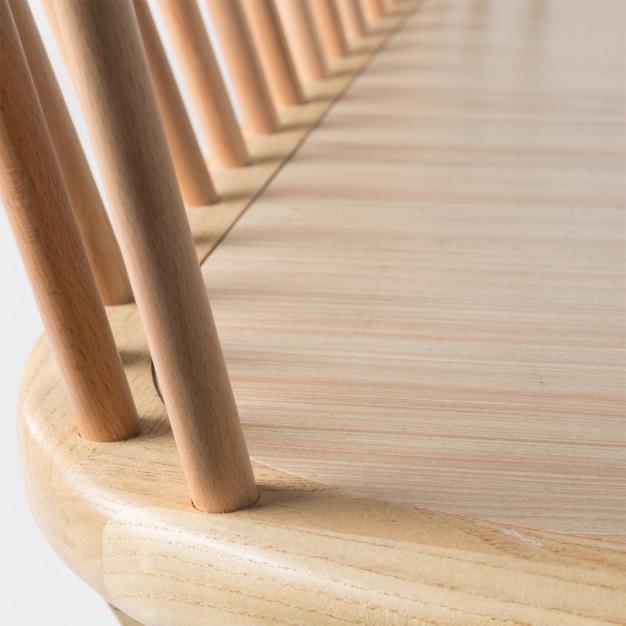 bois lissé marron clair design