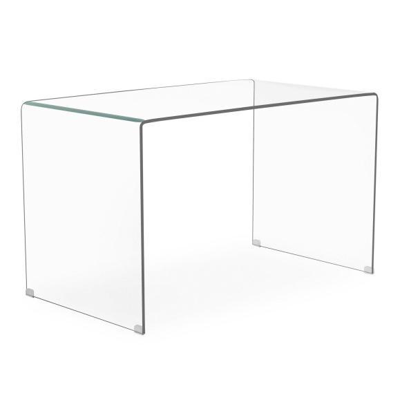 table transparente verre
