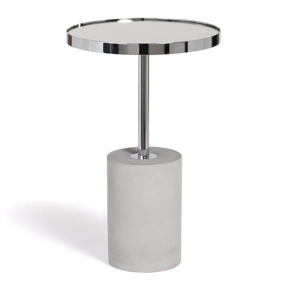 table basse ciment