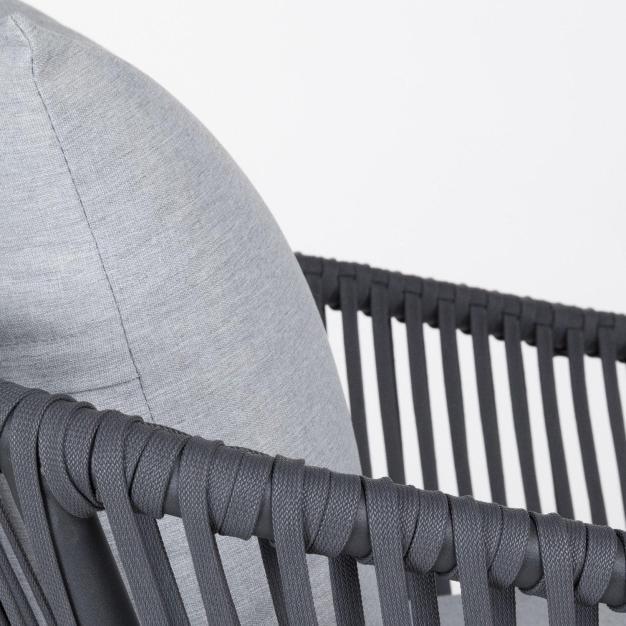 détail corde fauteuil