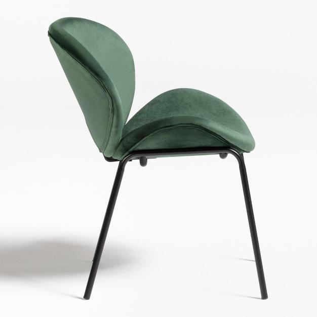fauteuil en velours