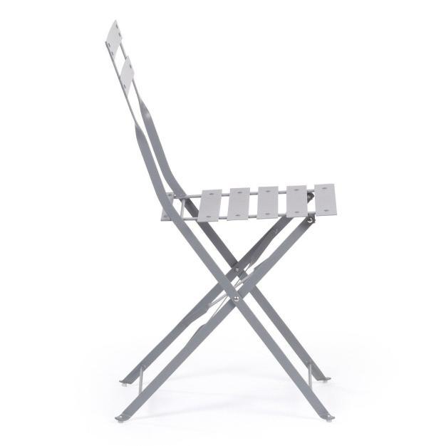 chaise grise extérieur