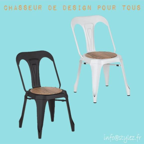 Chaise multipl's bois