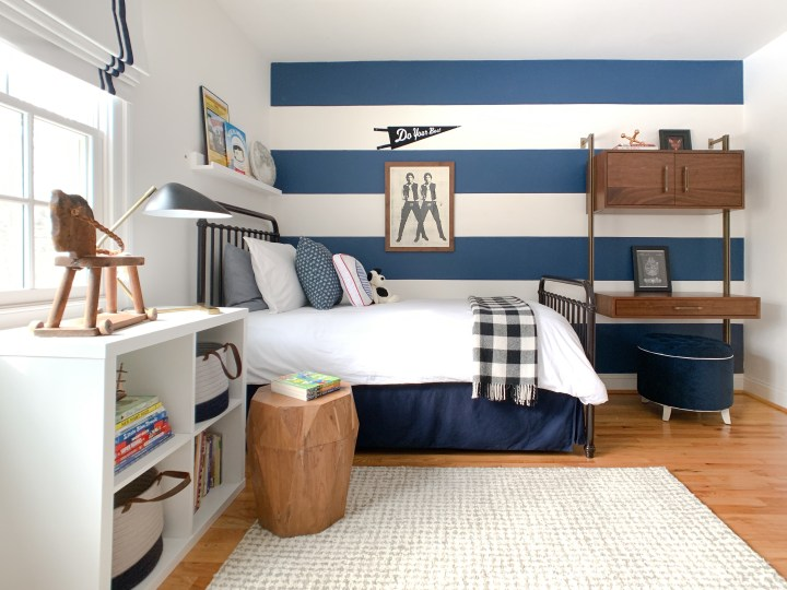 classically cool boys room reveal