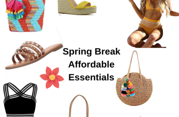 spring break affordable essentials
