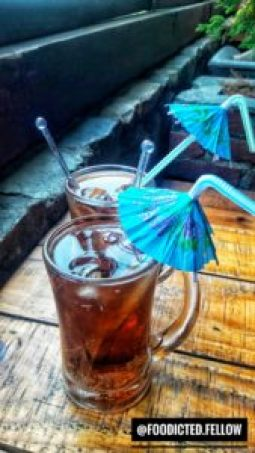 Fruit beer Kalsang Ama Cafe