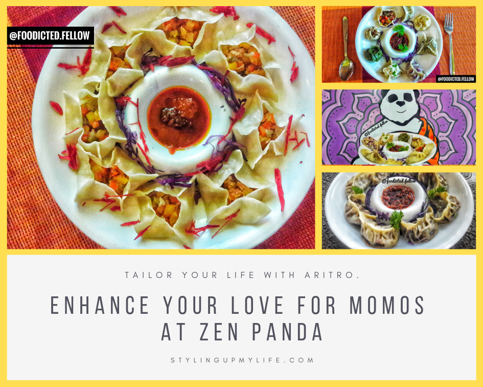 Enhance your love for momos at Zen Panda #SuperBloggerChallenge #Instacuppa