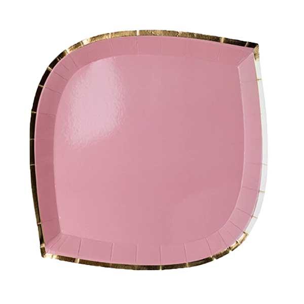 pink posh plate