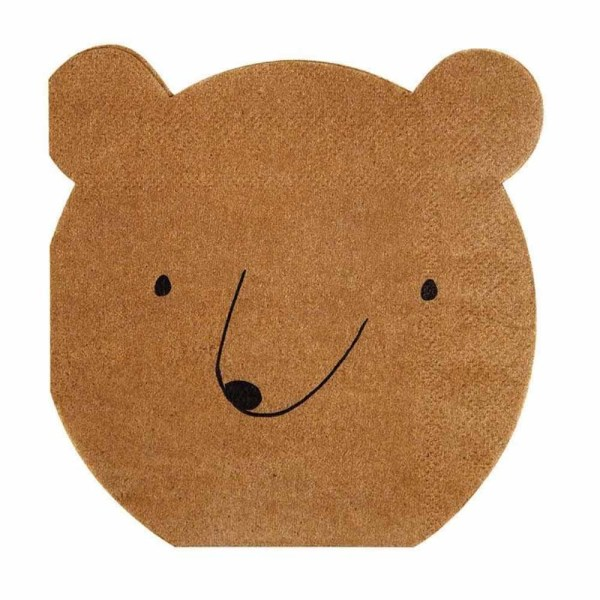 bear napkin