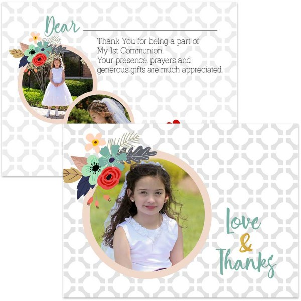 communion thank you card