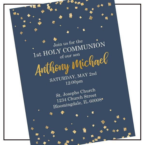 Confetti Communion