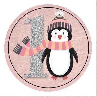 winter wonderland envelope seal