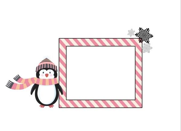 winter onederland envelope