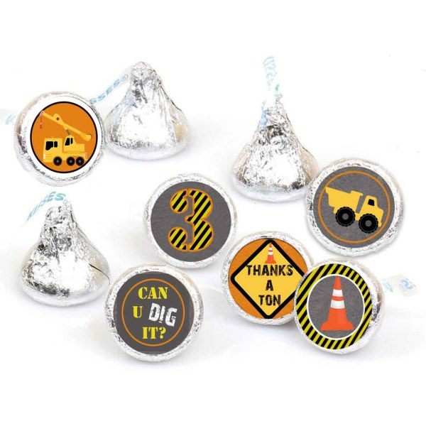 construction theme hersey stickers