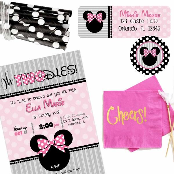 Minnie Twodles Birthday