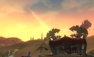Dawn over Maj'dul... plus gnomish contraptions