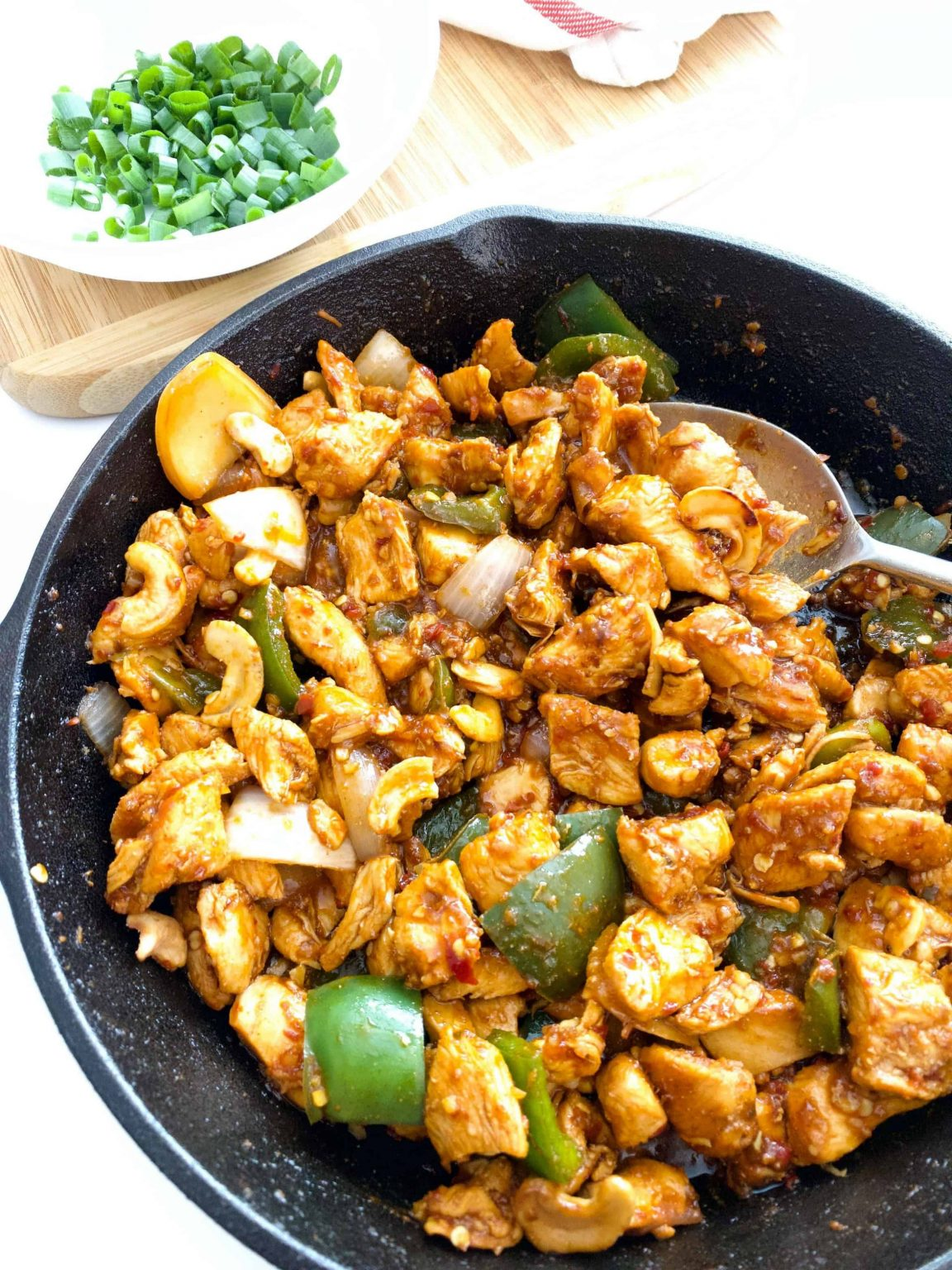 Low-carb Keto Cashew Chicken