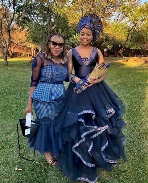 sesotho traditional clothes