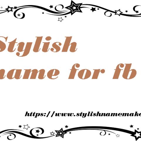 Stylish name for fb – Stylish name maker