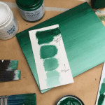 How to paint Ombre with Chalk Paint by Annie Sloan