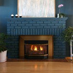 Painted Fireplace with Jolie Paint