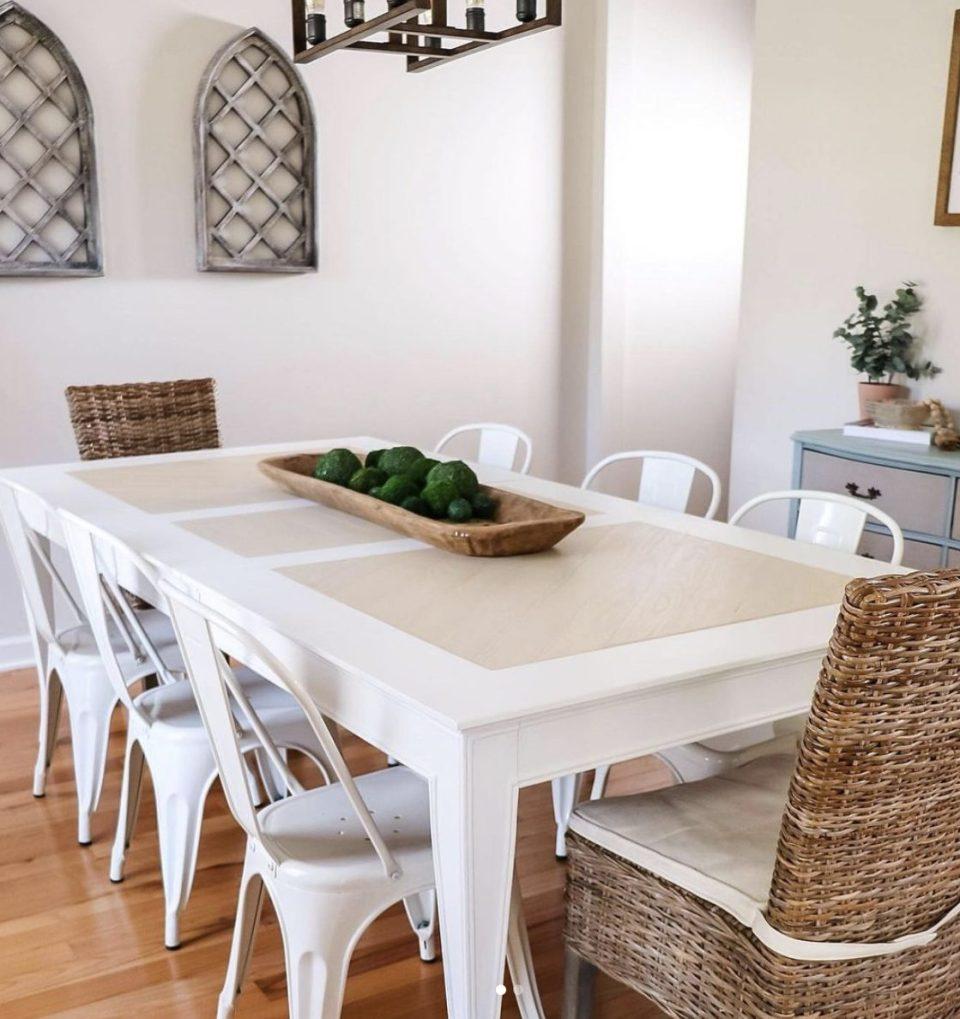 jolie paint table palace white