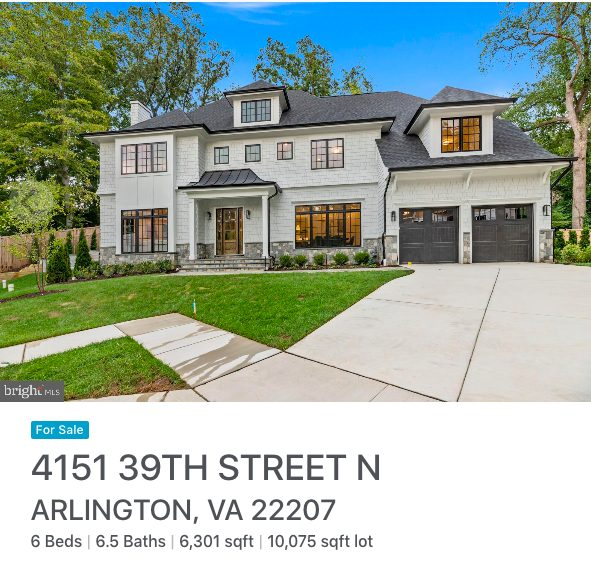 Northern Virginia houses for sale, Stylish Patina Real Estate