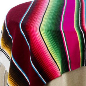 Hip Tip Mexican Blanket Tablecloths Stylish Spoon