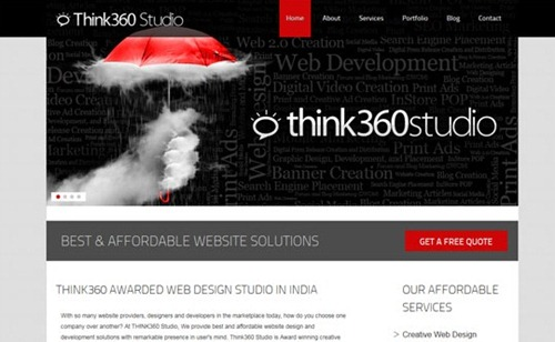 flash website design
