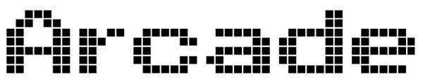 11. futuristic font