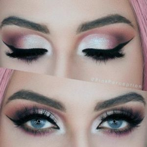 Makeup To Go With Purple Dress