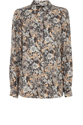 Oasis Midnight Garden Print Shirt Was £45 Now £20