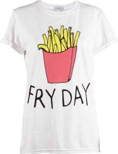 Fryday T-Shirt By Adolescent Clothing £18